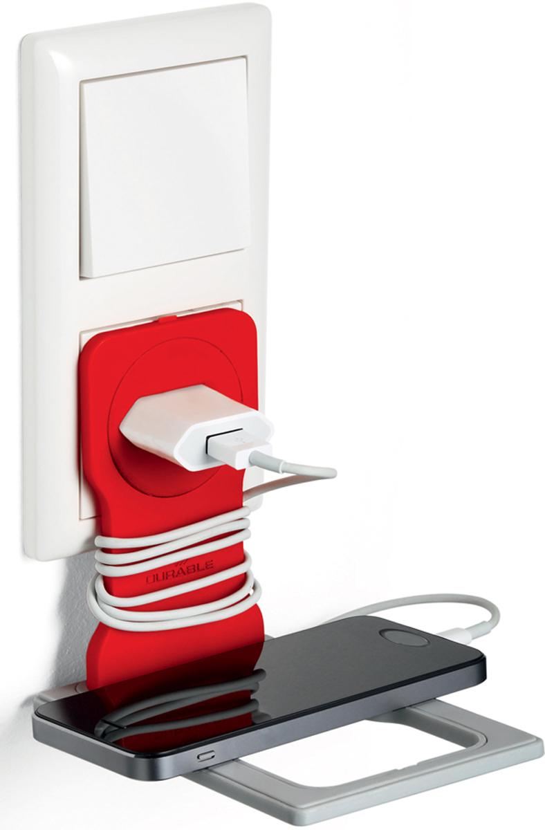 Durable Varicolor, Red держатель для мобильного телефона durable varicolor orange держатель для мобильного телефона