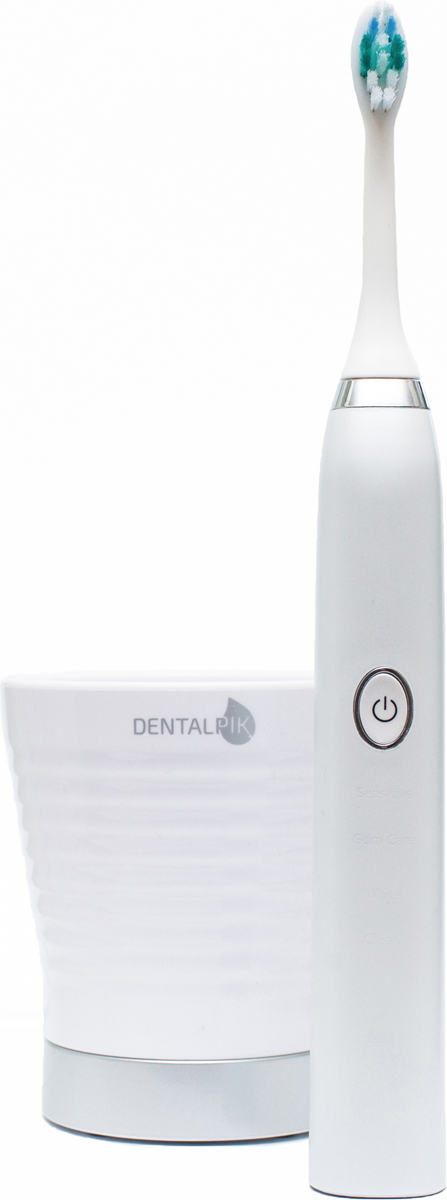 Dentalpik Pro 10, White электрическая зубная щетка aiyabrush zr501 zr101 интеллектуальная звуковая электрическая зубная щетка общий стандарт зубной щетки коробки путешествия коробка zr1001