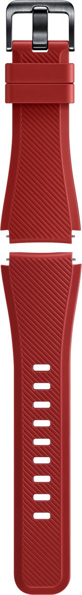 Ремешок для смарт-часов Samsung Gear S3, красный