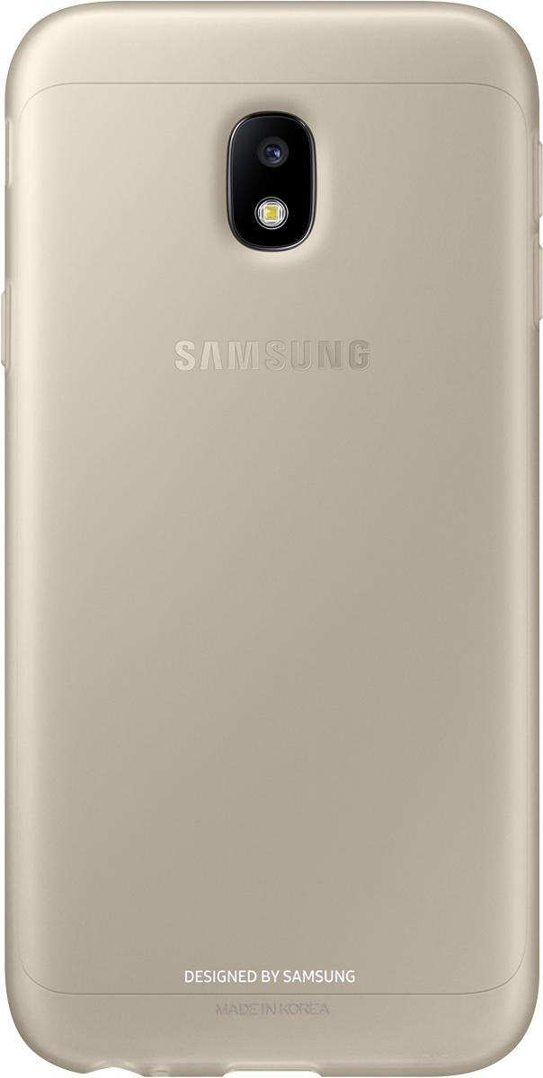 Samsung Jelly Cover чехол для Galaxy J3 (2017), Gold samsung jelly cover чехол для galaxy j3 2017 blue