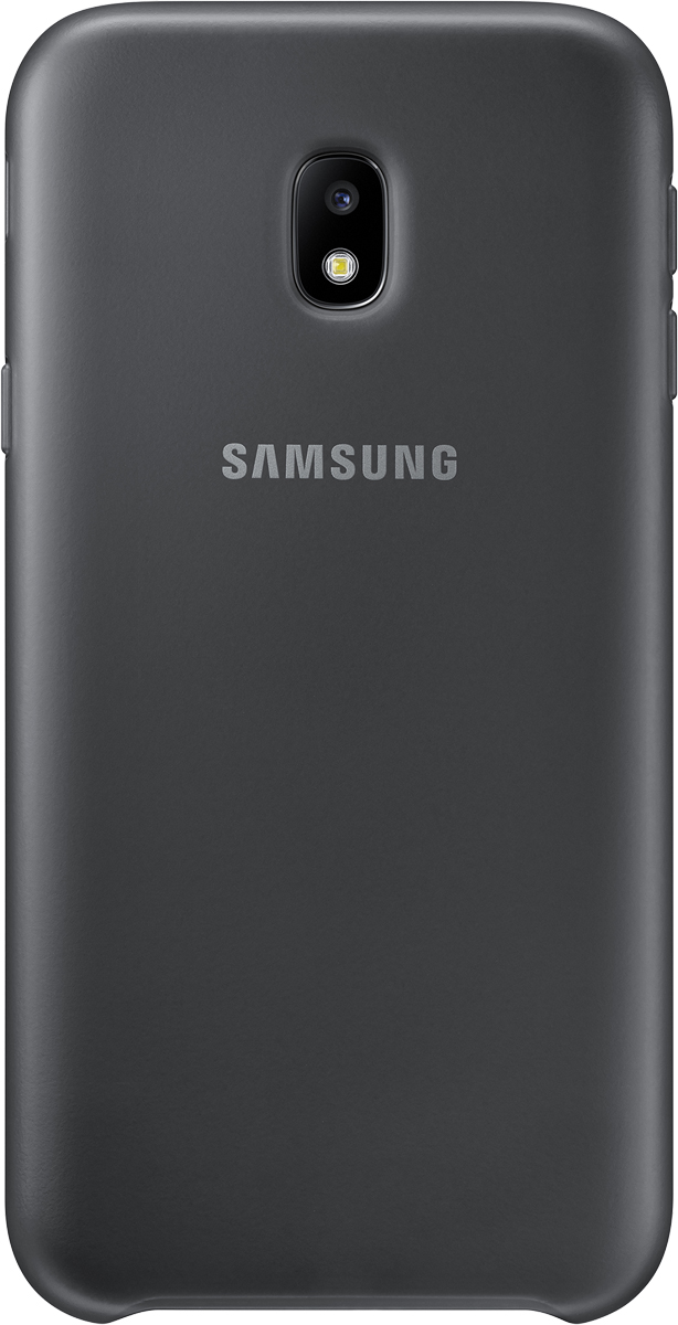 Samsung Dual Layer Cover чехол для Galaxy J3 (2017), Black чехол для samsung galaxy j3 2017 sm j330f dual layer cover голубой