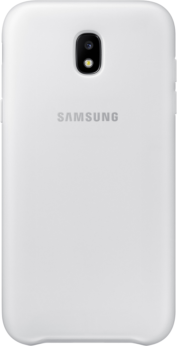 Samsung Dual Layer Cover чехол для Galaxy J5 (2017), White чехол samsung dual layer cover j5 2017 голубой
