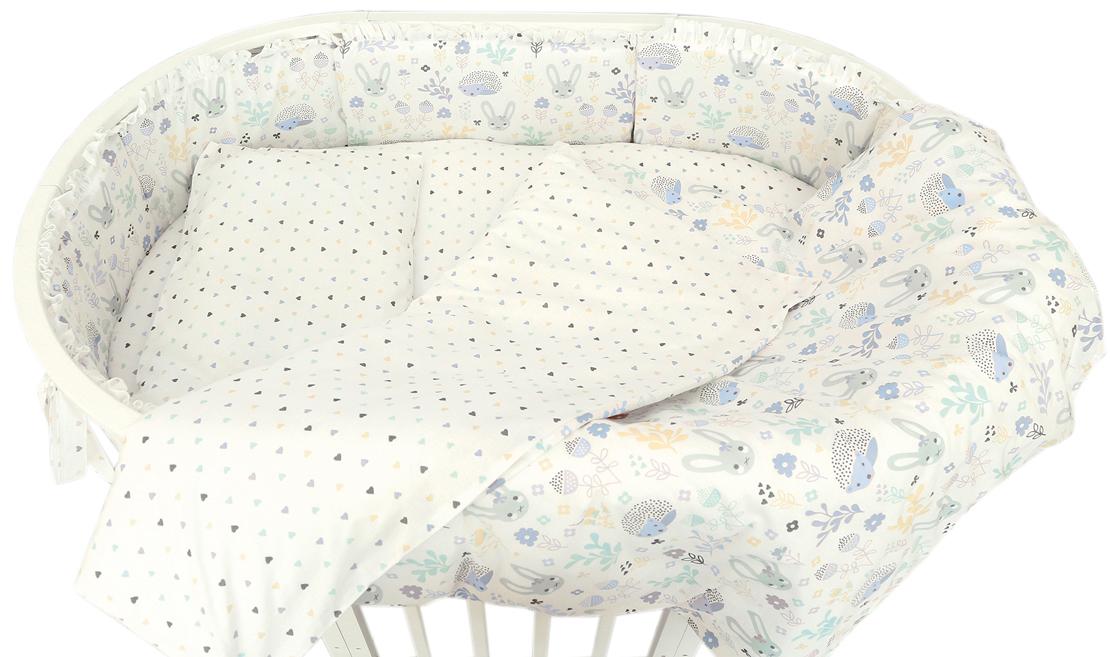 Baby Nice Борт комбинированный Лесная поляна цвет голубой S733/1