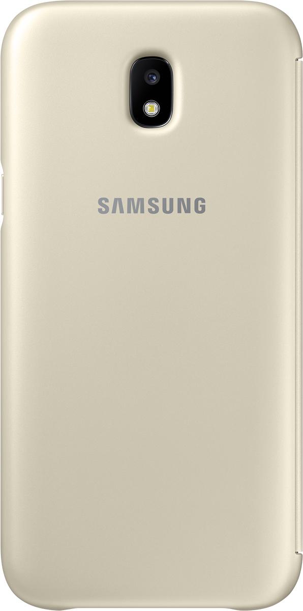 Samsung Wallet Cover чехол для Galaxy J5 (2017), Gold