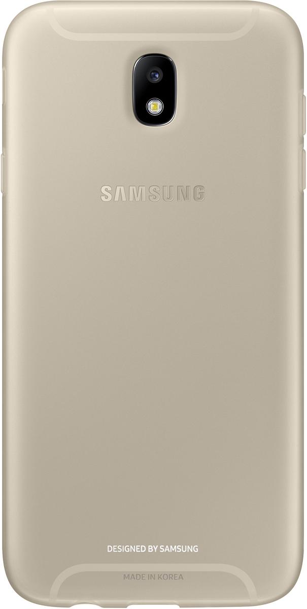 Samsung J730 Jelly Cover, Gold чехол для Samsung Galaxy J7 (2017) аксессуар чехол для samsung galaxy j7 j730 2017 gecko transparent glossy white s g sgj7 2017 wh