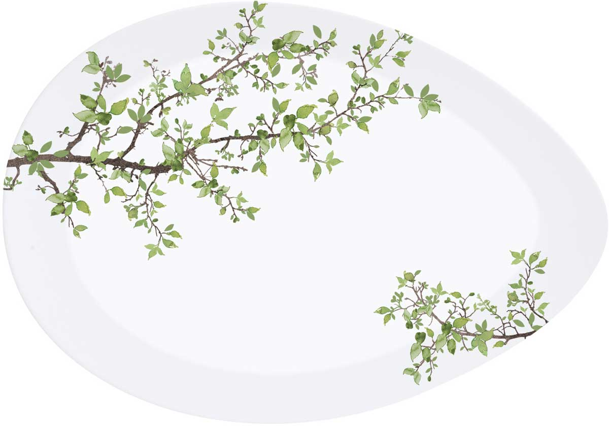 """Тарелка Easy Life """"Натура"""", 24 х 16,5 см"""