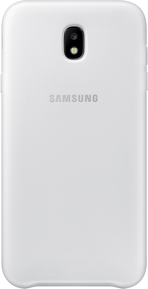 Samsung Dual Layer Cover чехол для Galaxy J7 (2017), White чехол для samsung galaxy j7 2017 sm j730fm dual layer cover белый