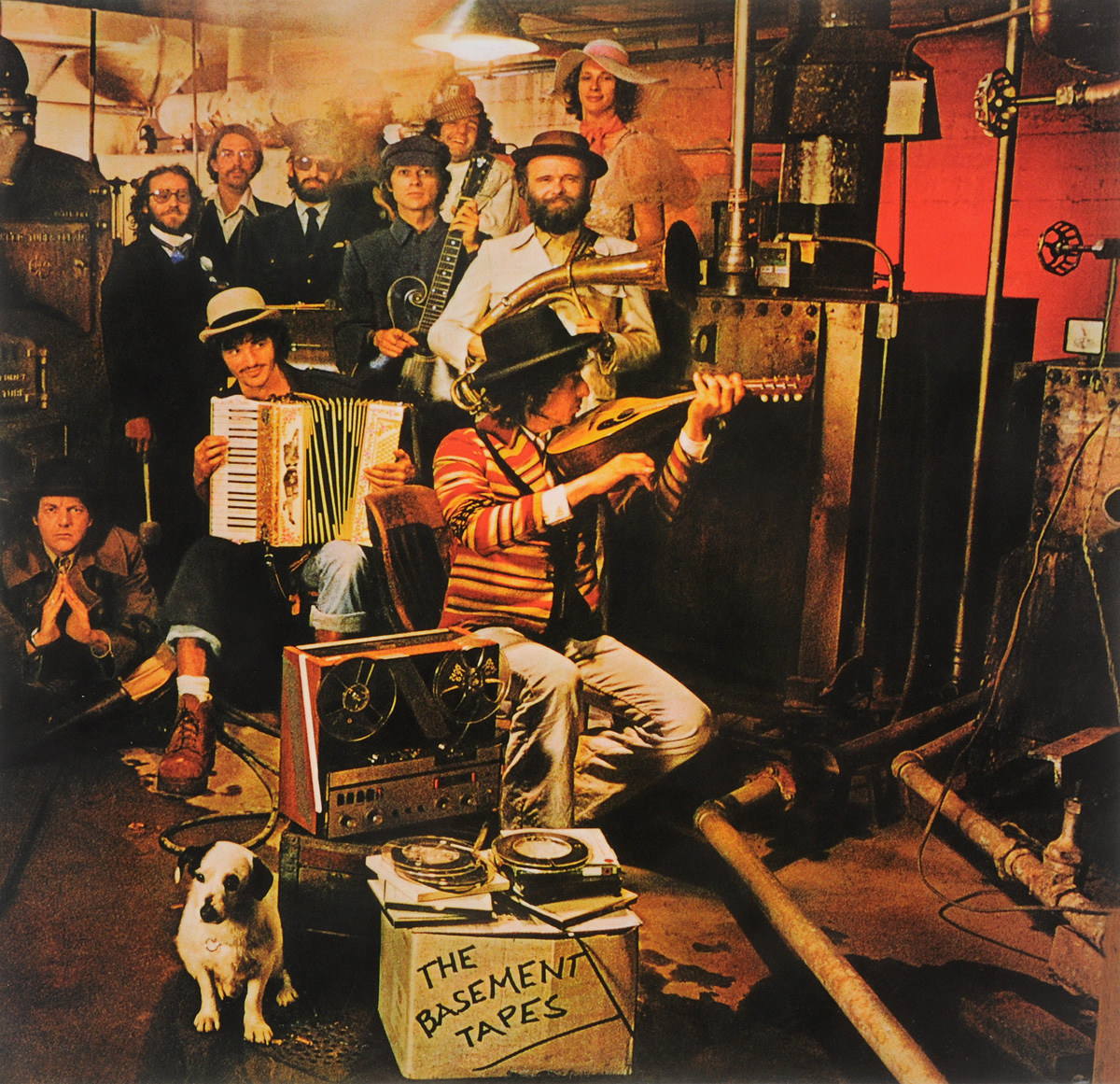Bob Dylan And The Band Bob Dylan And The Band. The Basement Tapes (2 LP) ludwig dylan intentionality information and consciousness