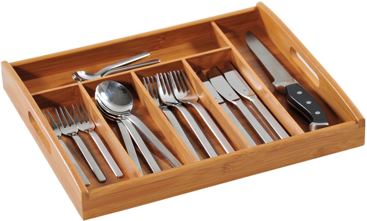 Подставка для столовых приборов Kesperd, с ручками, цвет: коричневый, 38 х 32 х 4 см подставка для столовых приборов kesperd с ручками цвет коричневый 38 х 32 х 4 см
