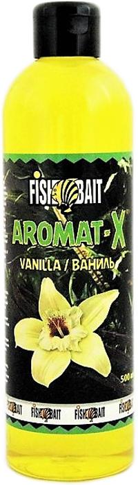 Ароматизатор для прикормки FishBait Aromat-X. Ваниль, зимний, 500 мл