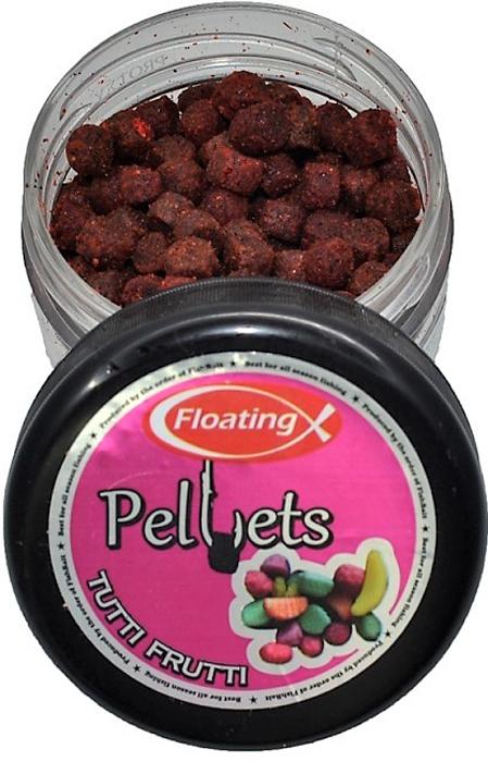 Пеллетс насадочный FishBait Тутти-фрутти, плавающий,75 мл зубная паста babyline тутти фрутти