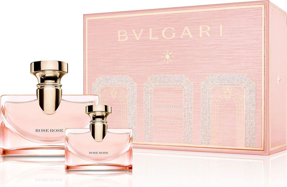 Bvlgari Splendida Rose Rose Набор Парфюмерная вода 50 мл + парфюмерная вода 15 мл цена