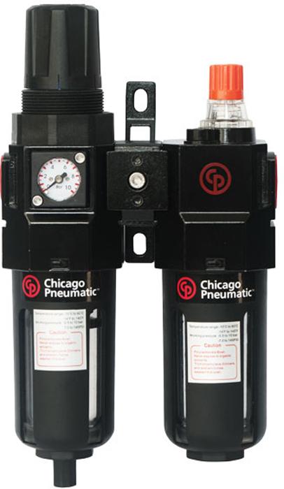 Блок подготовки воздуха Chicago Pneumatic, 1/2, композитный фильтр отстойник баз ду 20