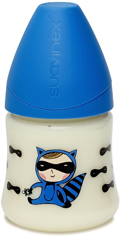 Suavinex Бутылочка от 0 месяцев с силиконовой соской цвет голубой 150 мл 3800141 тайный агент suavinex бутылочка от 0 месяцев с силиконовой соской цвет бирюзовый 270 мл