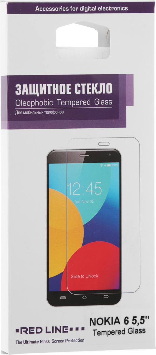 Red Line защитное стекло для Nokia 6, Tempered Glass