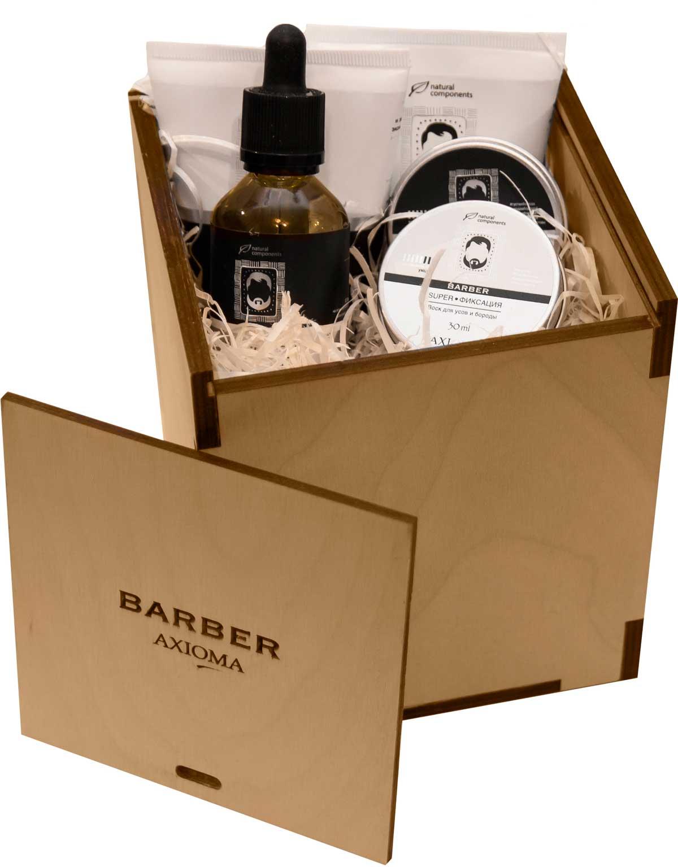 Набор для бороды и усов Брутал Бородач (короб деревянный) набор для усов и бороды mondial sv 075 baf n