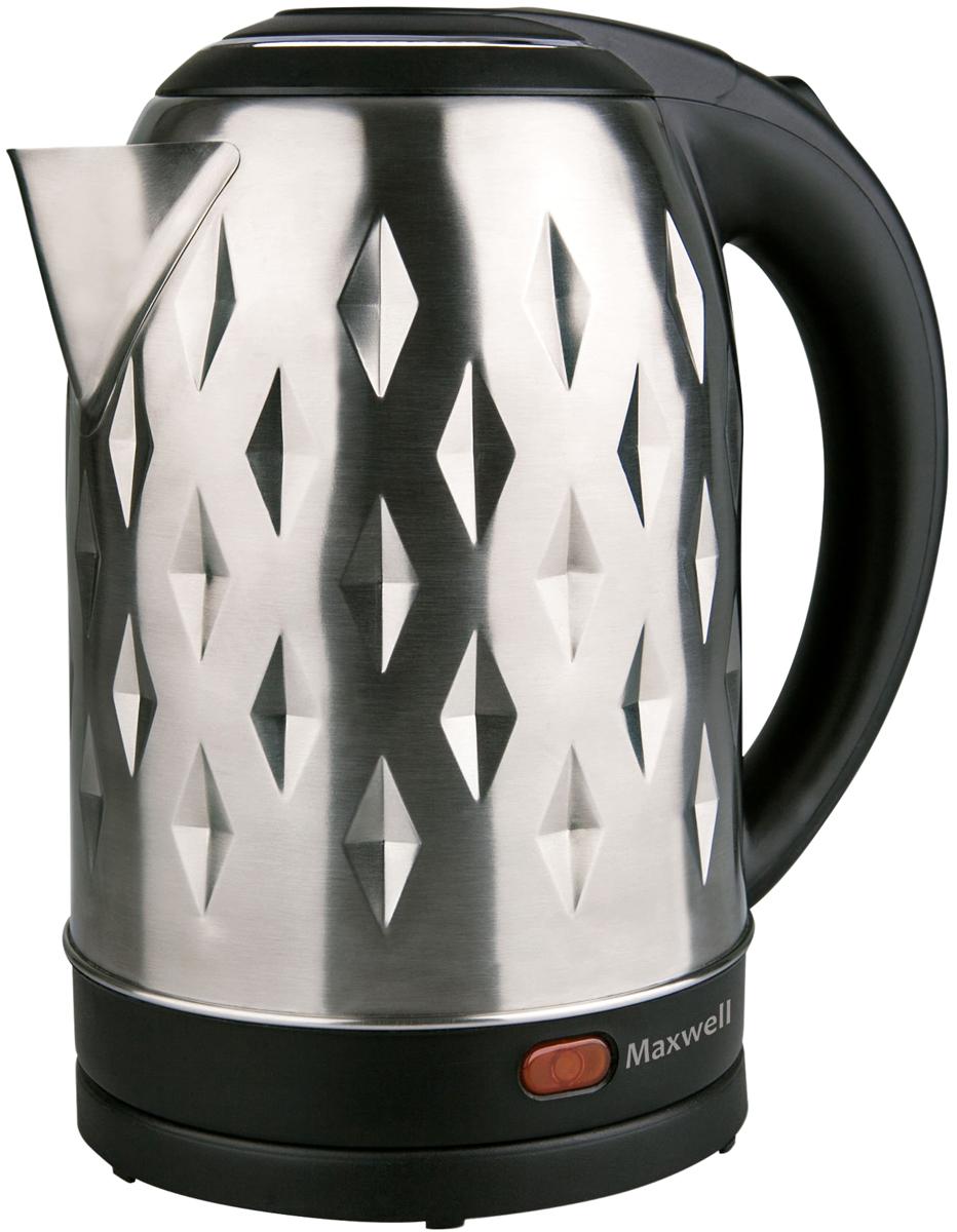 Электрический чайник Maxwell MW-1084(ST), Gray Metallic цена и фото