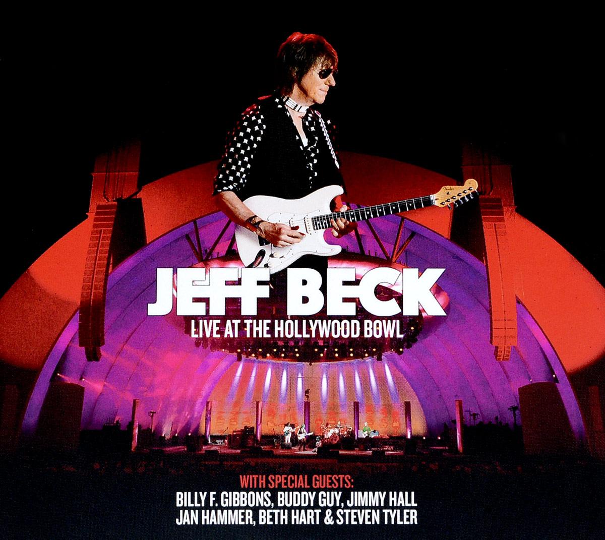 Джефф Бек Jeff Beck. Live At The Hollywood Bowl (2 CD+DVD)