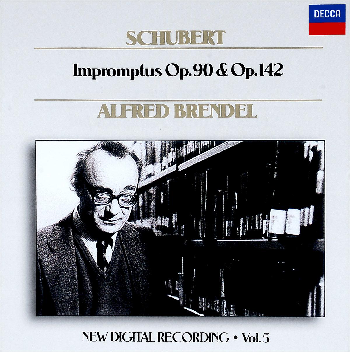 Альфред Брендель Alfred Brendel. Schubert: Impromptus D. 899; Impromptus D. 935 wilhelm kempff schubert impromptus d 899