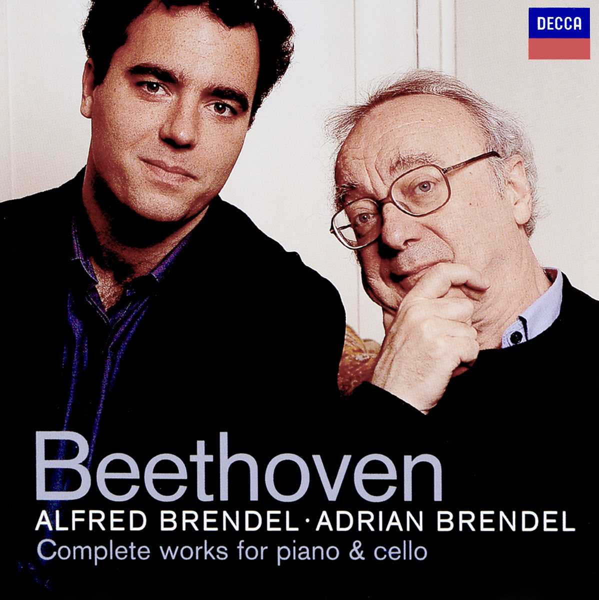 Альфред Брендель Alfred Brendel, Adrian Brendel. Beethoven: Complete Works for Piano & Cello (2 CD) beethoven the complete concertos volume 2
