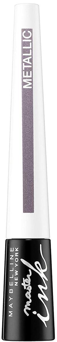 Maybelline New York Жидкая подводка для глаз Master Ink Metallic, оттенок 31, Silver Viole, 9 г цена в Москве и Питере