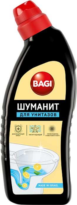 Средство для унитазов Bagi Шуманит Лимон, BG-B-208955-0, 650 мл средство elit home гель д унитазов лимон 750 мл 12 шт 671454