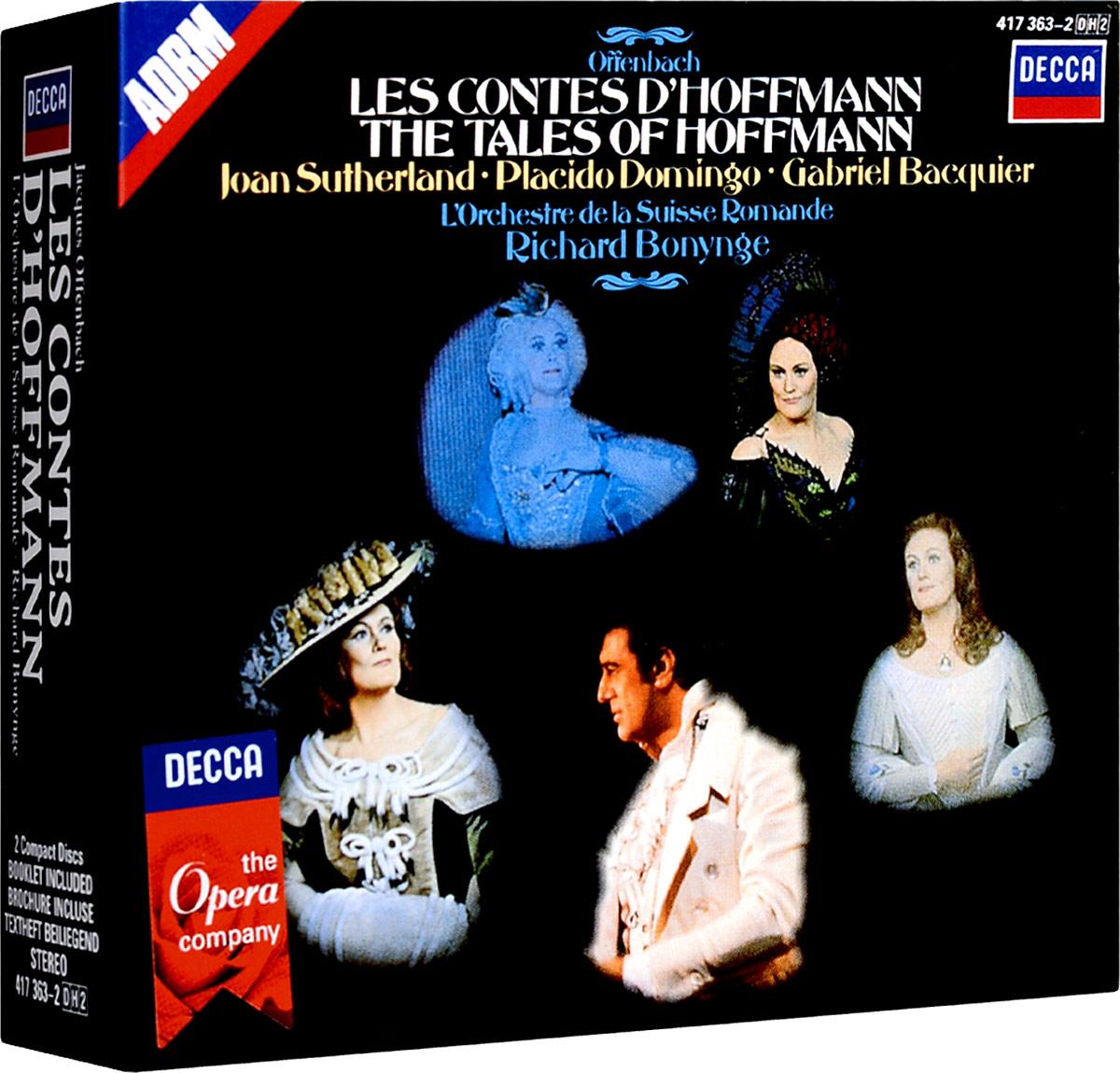 цена на Ричард Бонинг Richard Bonynge. Offenbach: Les Contes D'Hoffman (2 CD)