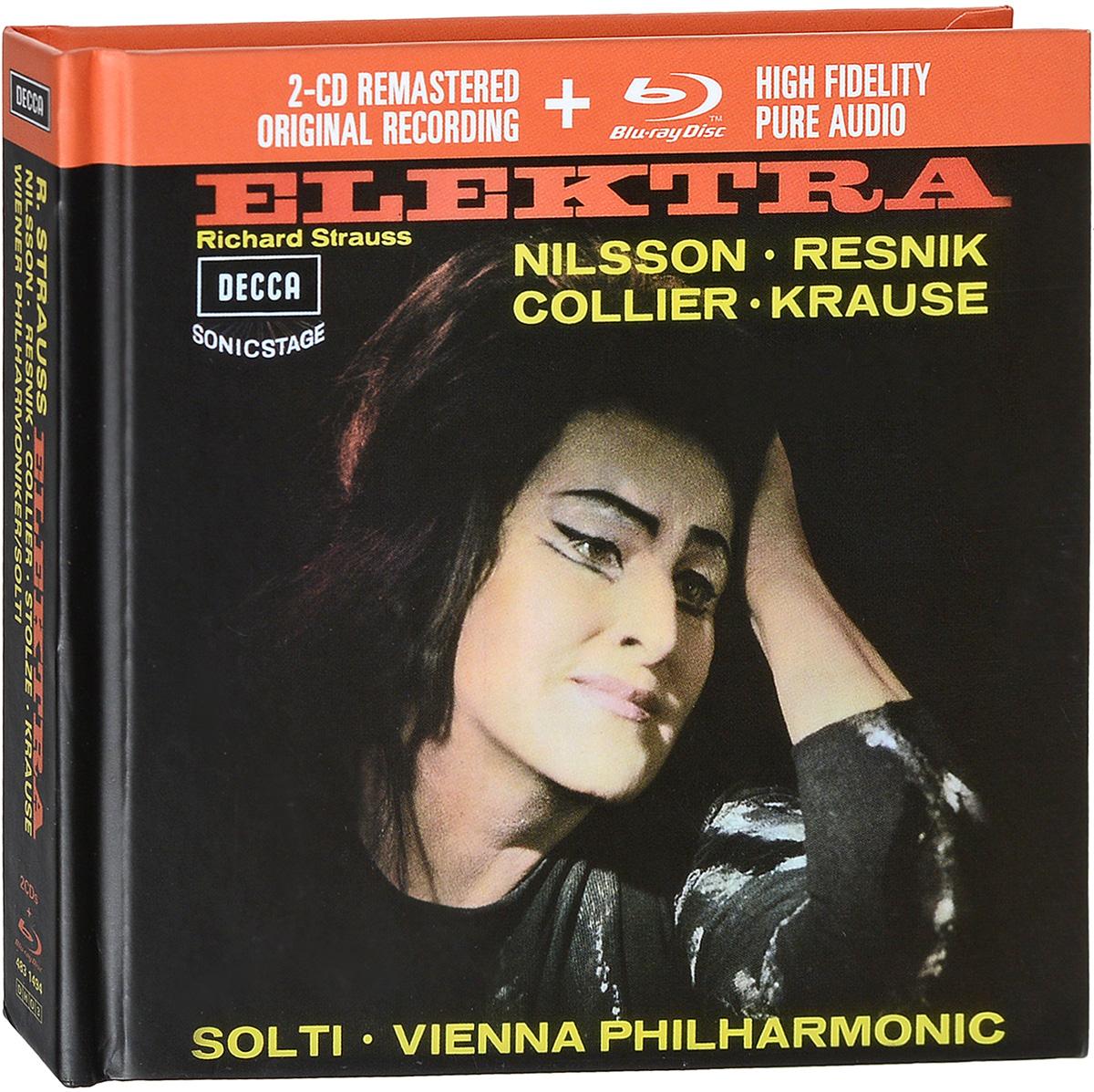 Wiener Philharmoniker Orchestra,Георг Шолти Philharmoniker, Sir Georg Solti. Strauss: Elektra (2 CD+1 Blu-ray)