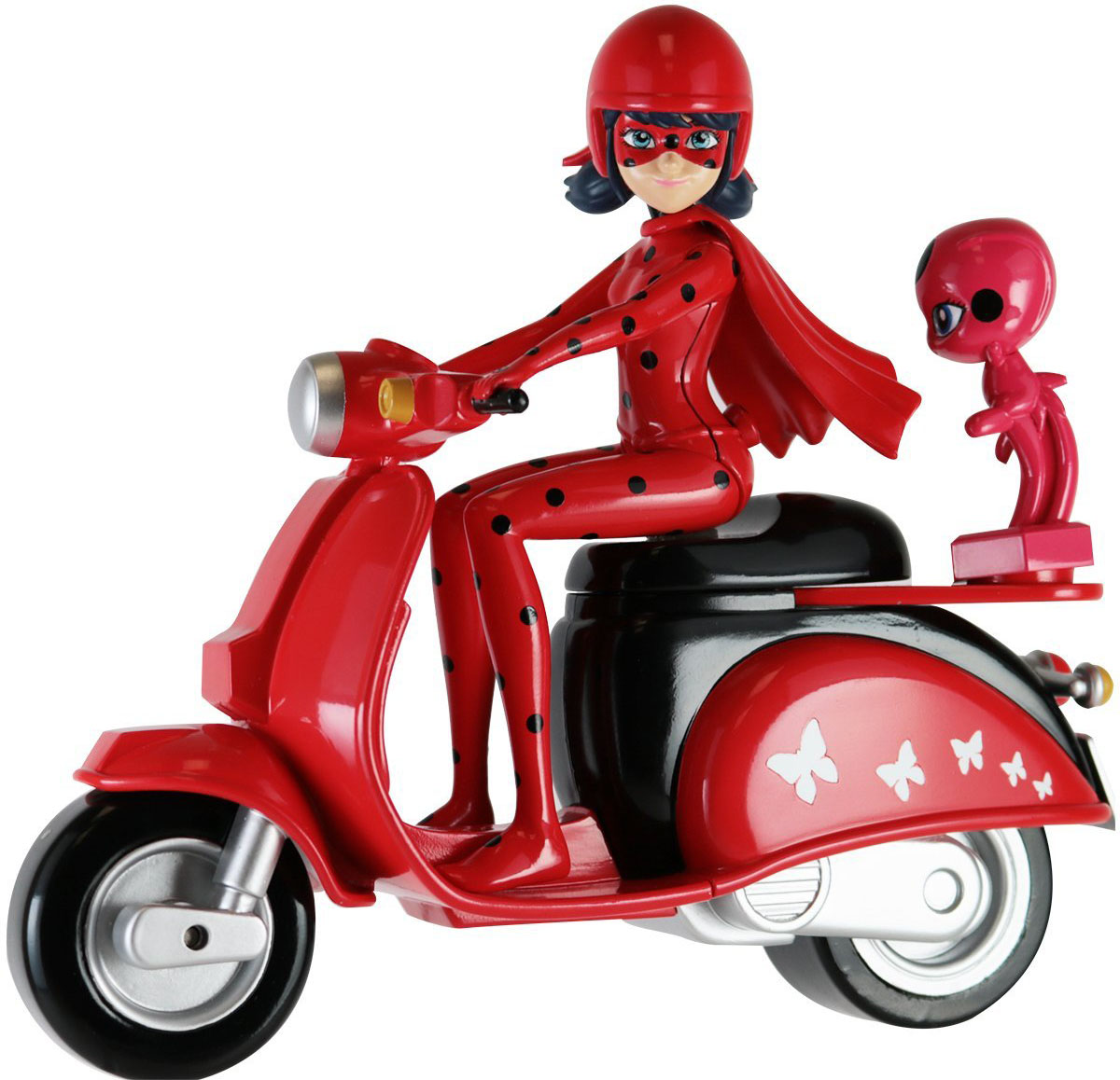 Miraculous Кукла Леди Баг на скутере игровой набор город троллей диджей баг