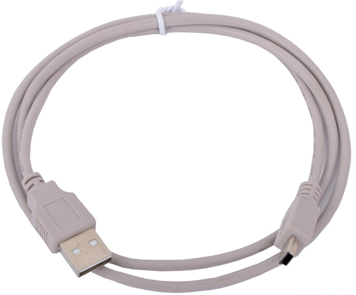 Cablexpert CC-USB2-AM5P-3, Gray кабель USB 2.0 AM/miniBM 5P (0,9 м) кабель usb2 0 тип а m microb 5p 1 8м