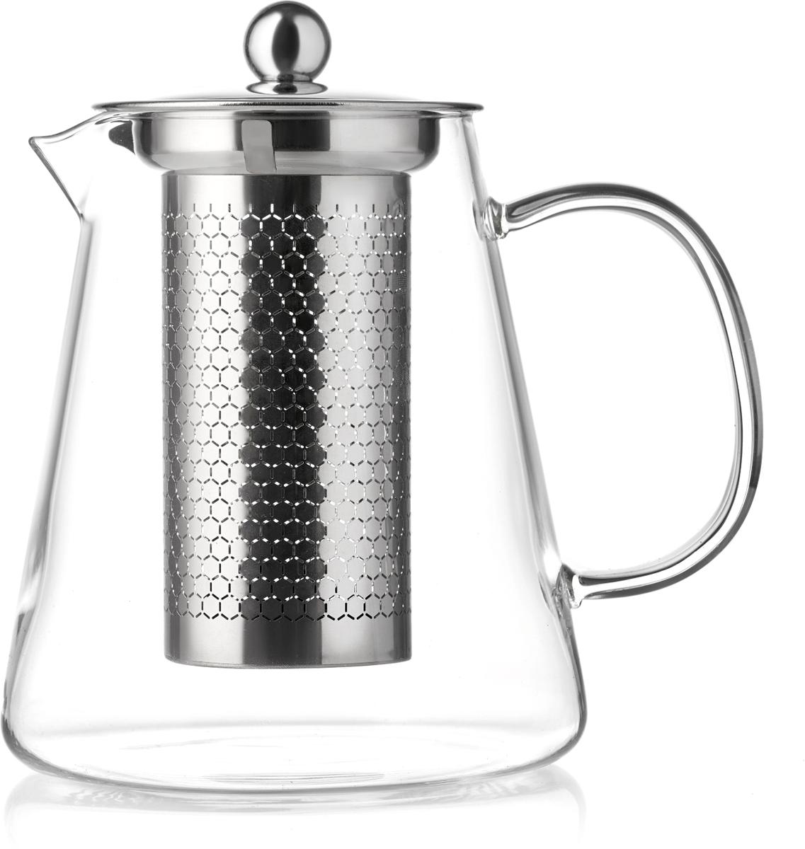 Чайник заварочный Walmer Sapphire, цвет: прозрачный, 1 л цена