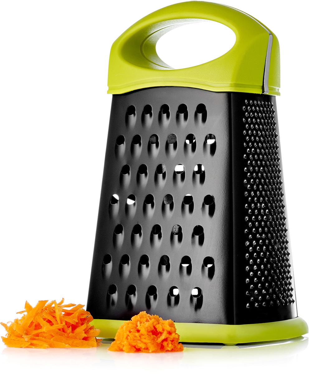Фото - Терка Walmer Vegan, четырехгранная, цвет: зеленый, черный, высота 21 см. W30009121 измельчитель для овощей walmer vegan 22 5 см