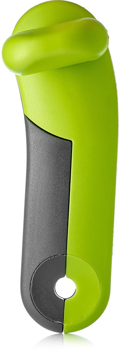 Фото - Нож консервный Walmer Vegan, цвет: зеленый, серый, длина 16 см измельчитель для овощей walmer vegan 22 5 см