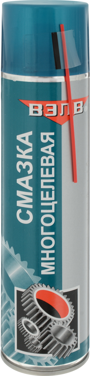 Смазка многоцелевая ВЭЛВ VS-40, аэрозоль, 400 мл. 2085 многоцелевая смазка lavr lv 40 210 мл