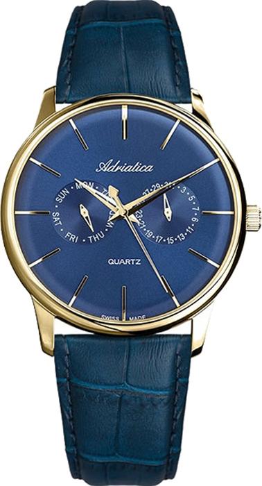Наручные часы мужские Adriatica, цвет: синий. 8243.1215QF цена
