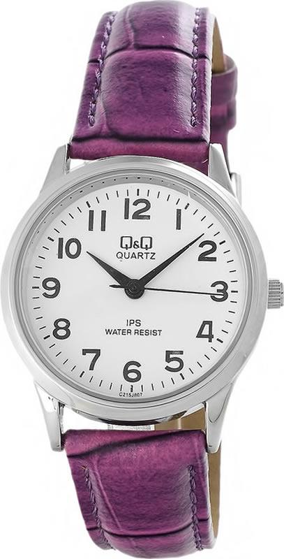 Наручные часы женские Q & Q, цвет: белый. C215-807 q and q c215 312