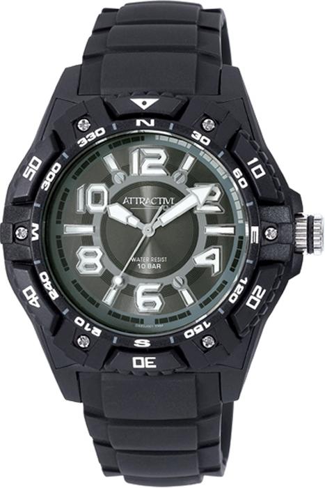 Наручные часы мужские Q & Q, цвет: черный. DA50-001 q and q q868 001