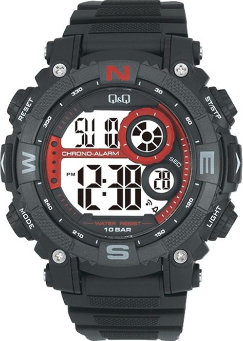 Наручные часы мужские Q & Q, цвет: черный. M133-002 мужские часы q and q vq66 002