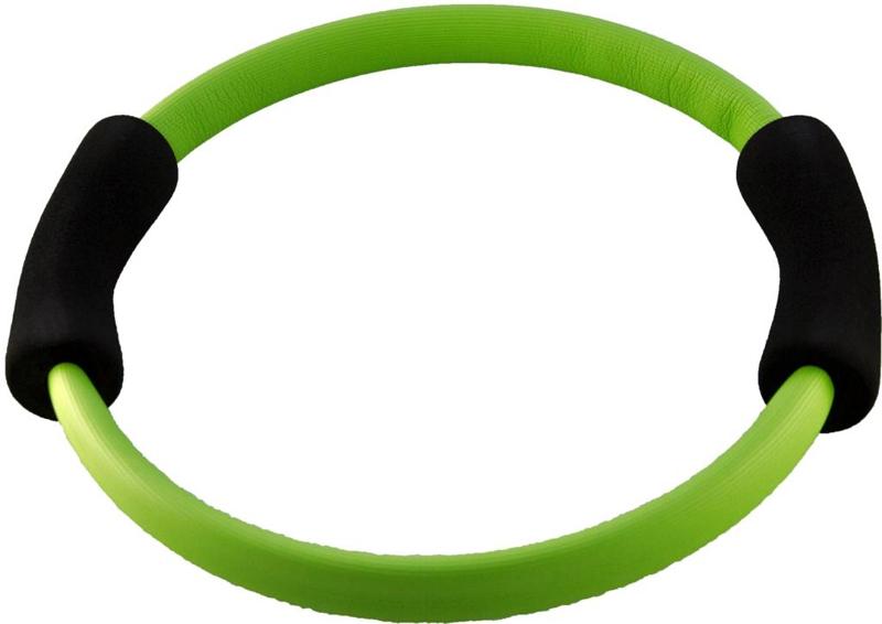 Фото - Кольцо для пилатеса Atemi, цвет: зеленый, диаметр 35 см кольцо пилатес bradex