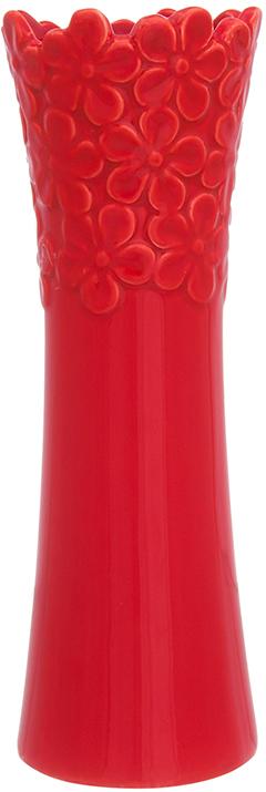 Ваза Elan Gallery Красная с цветами, цвет: красный, высота 22 см, 0,4 л dobe tyx 530 multifunction universal tv mount stand holder for ps4 xbox one wii u more black