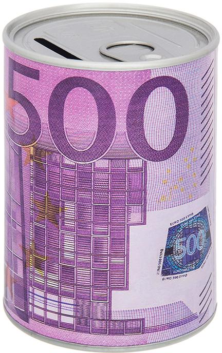 "Копилка Elan Gallery ""Евро"", цвет: сиреневый, 7,6 х 7,6 х 11 см"