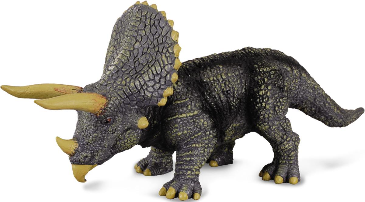 Collecta Фигурка Трицератопс 88037b игровые фигурки gulliver collecta динозавр трицератопс 1 40