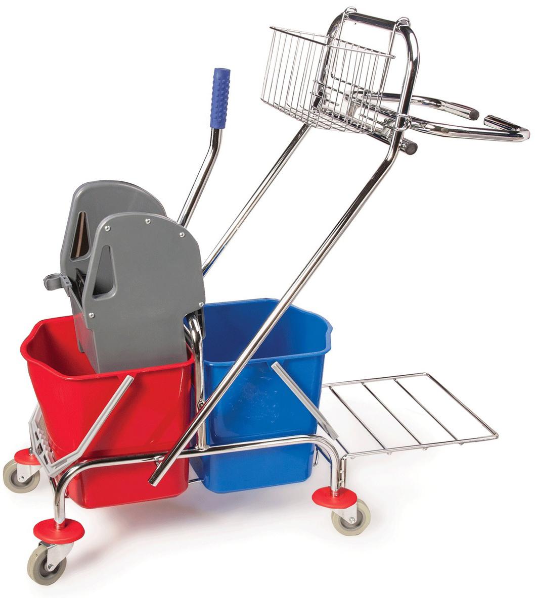 Тележка для уборки Brabix Проф. 601500 elc тележка для уборки