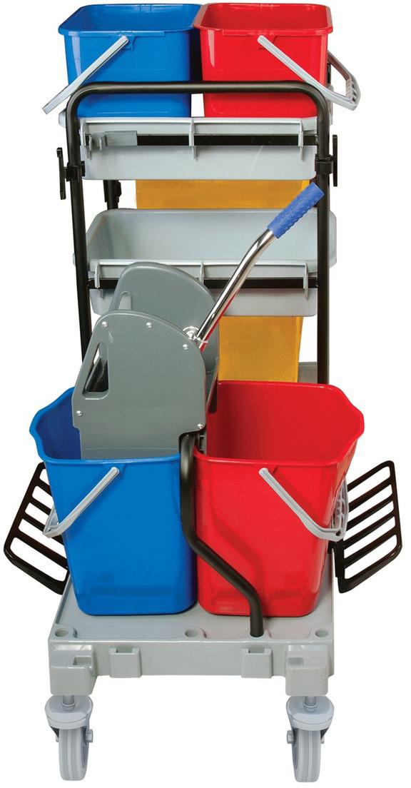 Тележка для уборки Brabix Проф. 601501 elc тележка для уборки