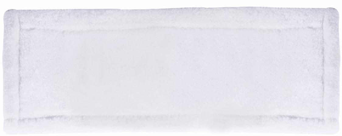 Насадка для швабры Лайма Моп, с карманами, цвет: белый, 40 х 10 см. 603117 цена