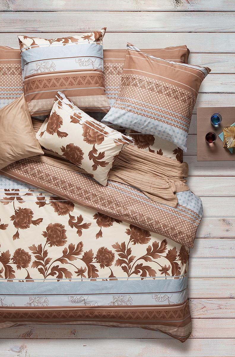 Комплект белья Sova & Javoronok Сандал, 1,5-спальный, наволочки 50x70. 2030816239 комплект белья sova