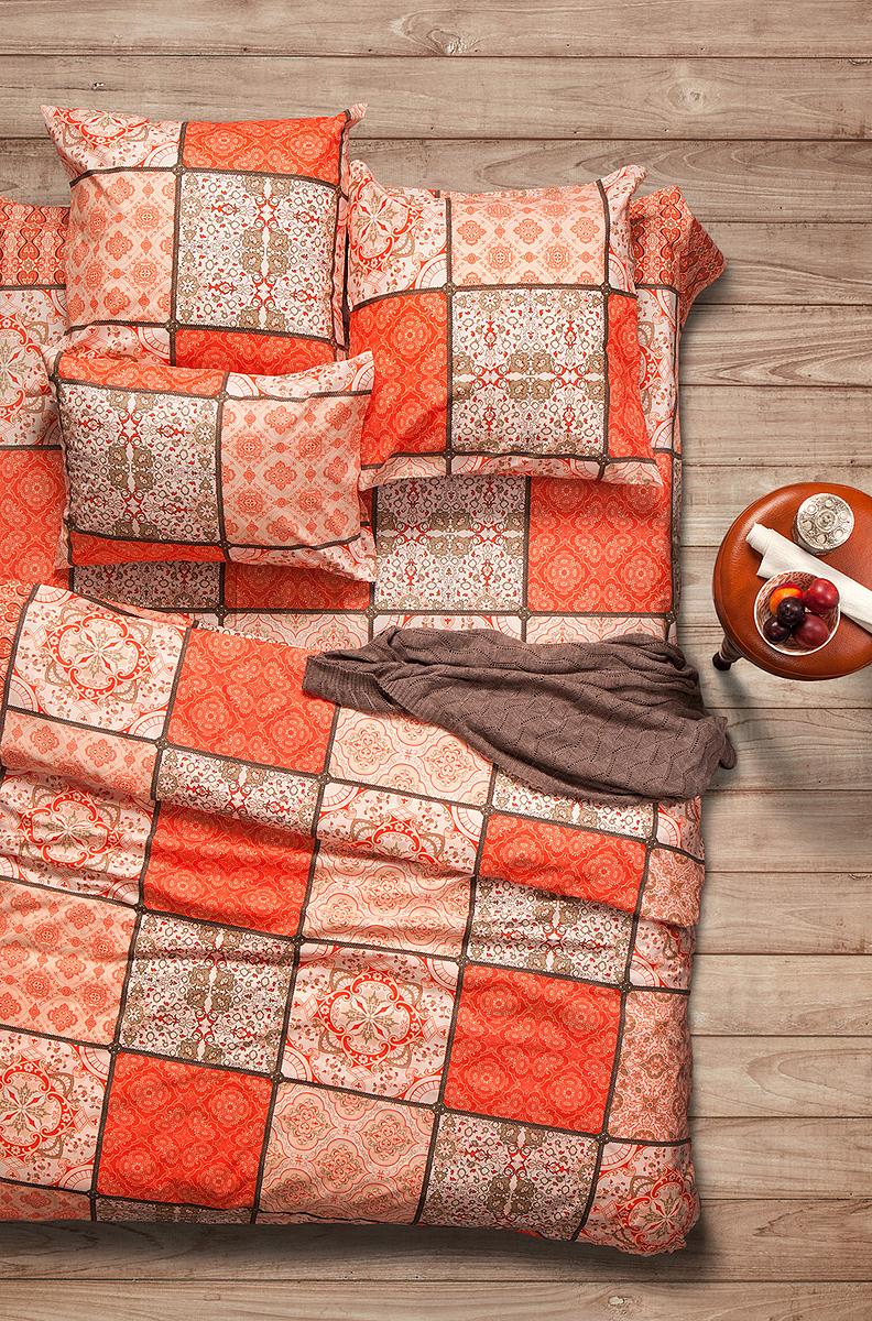 Комплект белья Sova & Javoronok Шафран, евро, наволочки 50x70. 2030816287 комплект белья sova