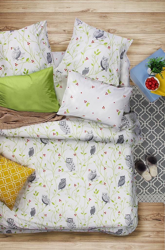 Комплект белья Sova & Javoronok Барбарис, 1,5-спальный, наволочки 50x70. 2030816768 комплект белья sova