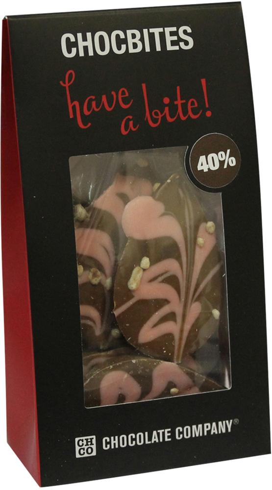 Chco Лепестки молочный дизайнерский узорный шоколад, 100 г chco лев с сердцем молочный детский шоколад 70 г