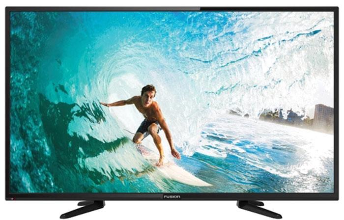 Телевизор Fusion FLTV-40B100T 40, черный led телевизор fusion fltv 22c100